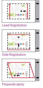 Opzioni di allineamento della stampante Xerox Color C75