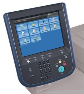 Sistema di controllo Xerox Color C75